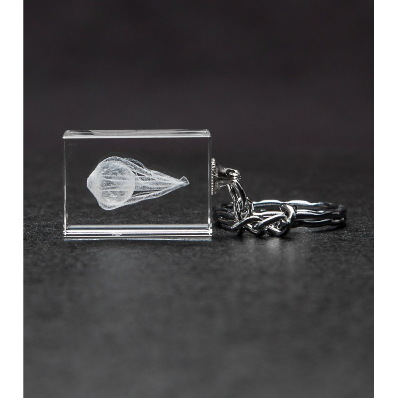 Eye Crystal Key Chain front view