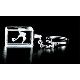 Ossicular Chain Crystal Key Chain