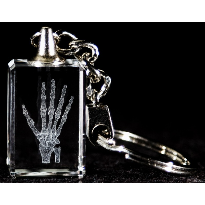 Hand Crystal Key Chain