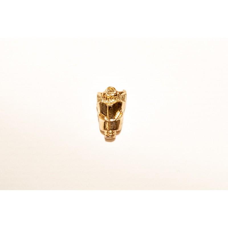 Larynx Gold Pin