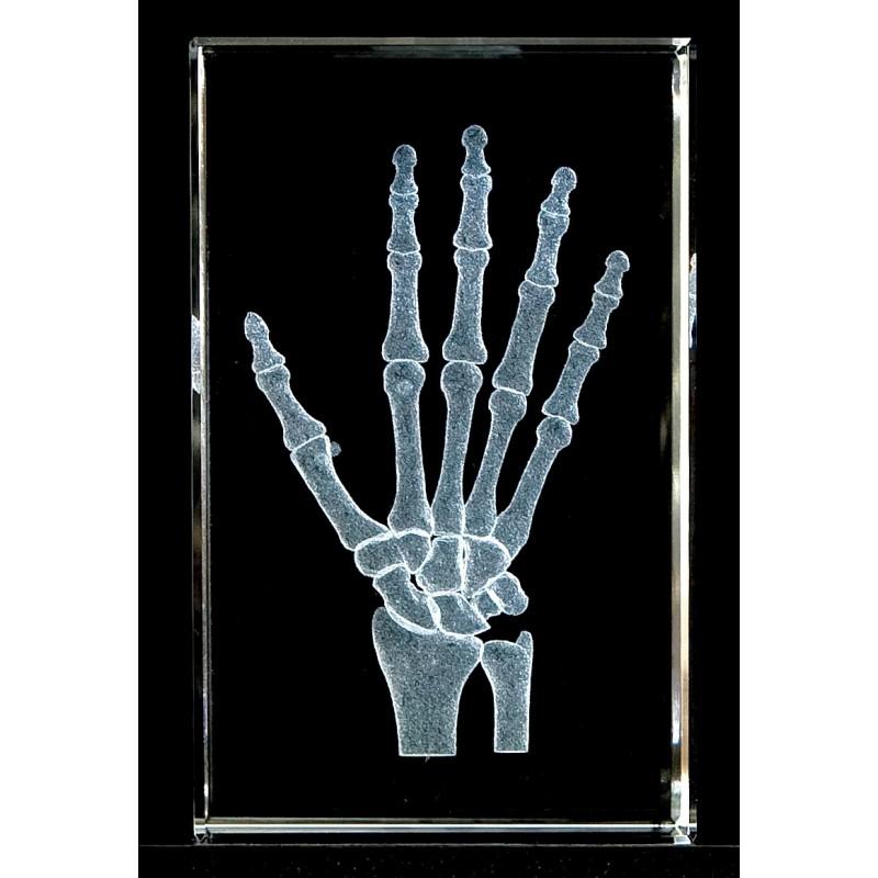 Hand Crystal Art