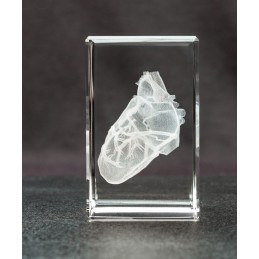 Heart Crystal Art 1lb right view