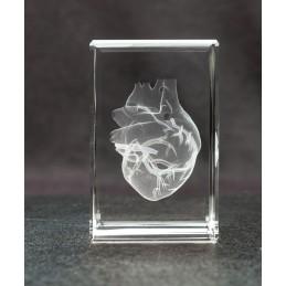 Heart Crystal Art 1lb back view