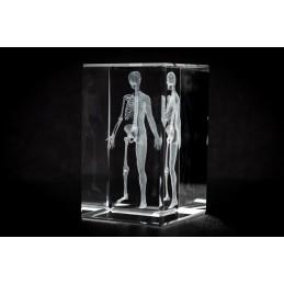 Body Crystal Art 1lb diagonal view