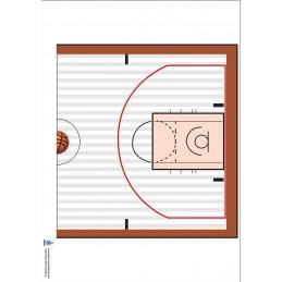 Basketball Chart back