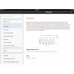 Speech Articulation iBook glossary content