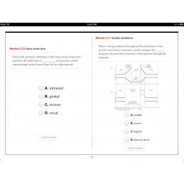 Speech Articulation iBook chapter review