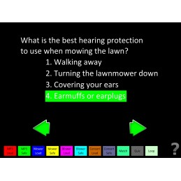 Hearing Protect Health Fair Mobile App quiz
