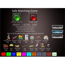 Hearing Protect Health Fair Mobile App match game