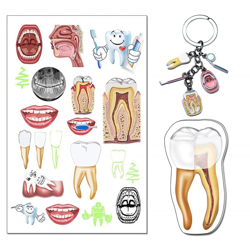 Dental Tattoo Gift Set