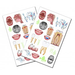 Dental Tattoo 2 pack