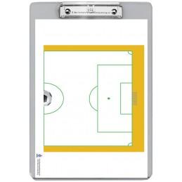 Soccer Dry Erase Clipboard back