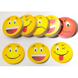 Emoticon Stick Note example