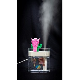 SLP Larynx and Cactus Humidifier Set - tattoos applied