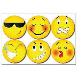 Emoticon Two Stick Note 1 pack