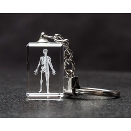 Body Crystal Key Chain
