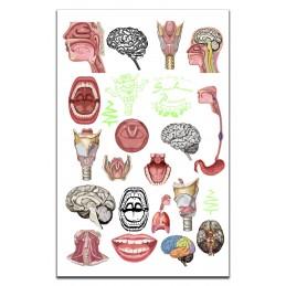 SLP Tattoo Card