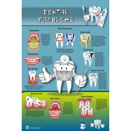 Dental Problems Large Poster