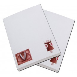 Vocal Fold Flip Note Pad 2 pack