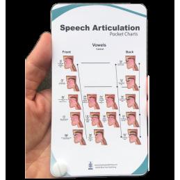 Speech Articulation Pocket Chart