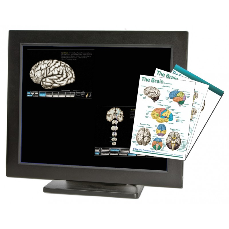 Brain Computer App Chart Tablet Set