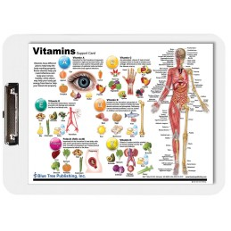 Vitamins Dry Erase Clipboard front