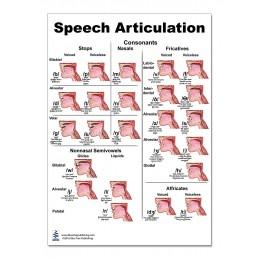Speech Articulation Regular Poster two