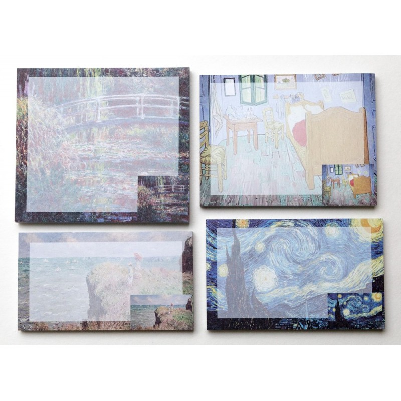 Impressionist Art Stick Note single pack