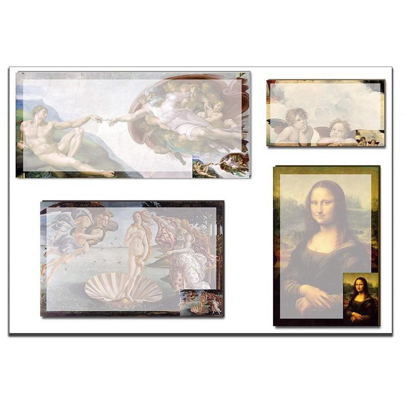 Renaissance Art Sticky Note Set 1 pack