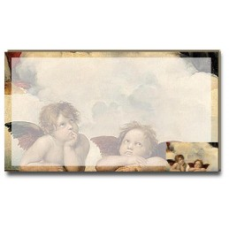 Raffaello - Sistine Madonna (lower section) pad