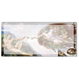 Michelangelo - Sistine Chapel (portion of the ceiling) pad