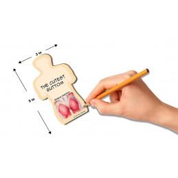 Glute Stick Note dimension