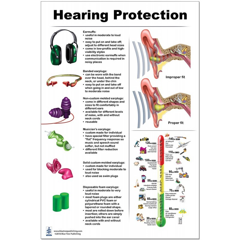 Hearing Protection Large Poster